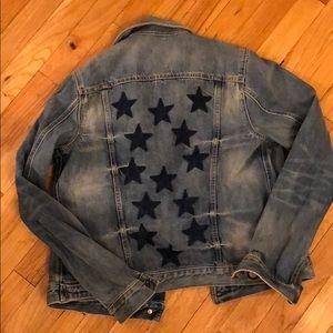 Gap 1969 star bleach jacket